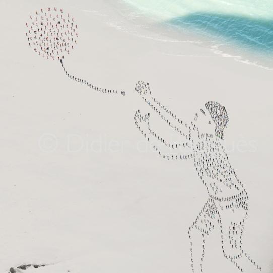 Le garçon au ballon © Didier de Radiguès