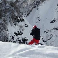 didier dans la neige