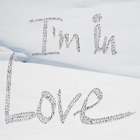 I'm in love snow © Didier de Radiguès