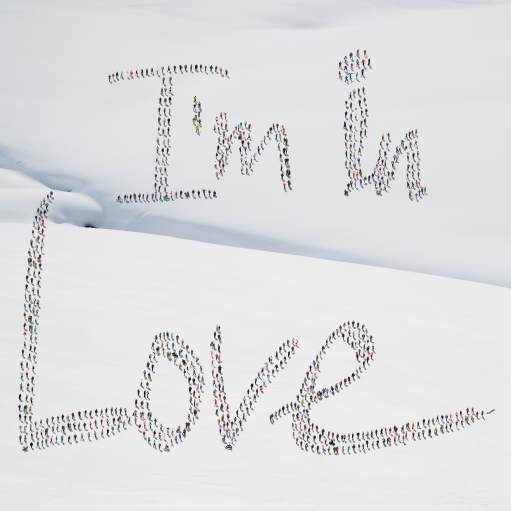I'm in love snow © Didier de Radiguès