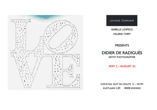 invitation James Corner 2015 DEF LOVE LOVE nuit du zoute