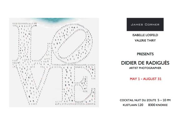 invitation James Corner 2015 DEF LOVE LOVE nuit du zoute