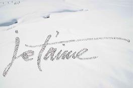 Je t'aime snow © Didier de Radiguès