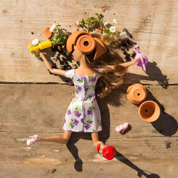Le jardinage © Camille Berna