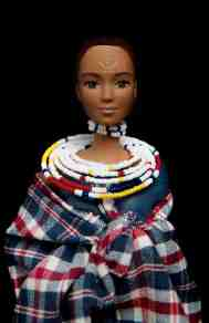 Barbie Maasaï © Camille Berna